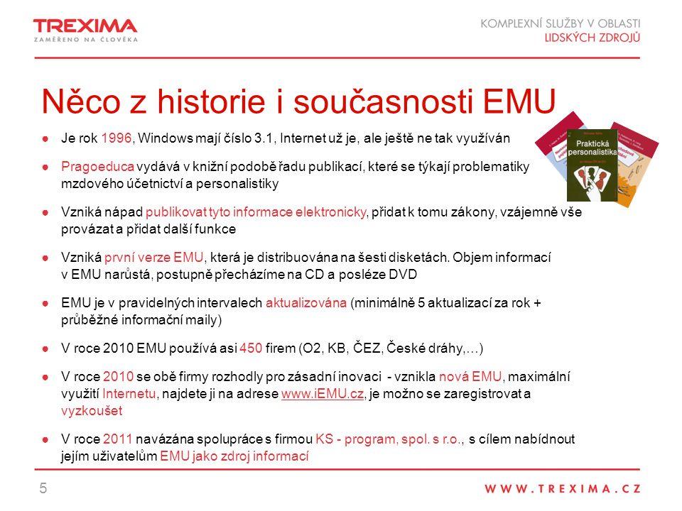 Něco z historie i současnosti EMU