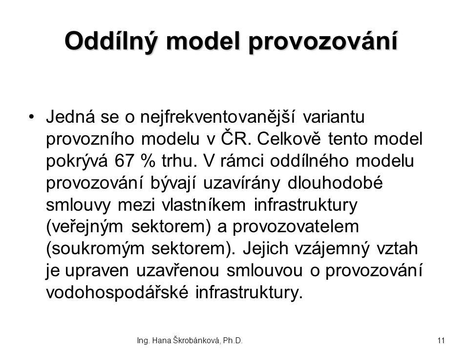 Oddílný model provozování