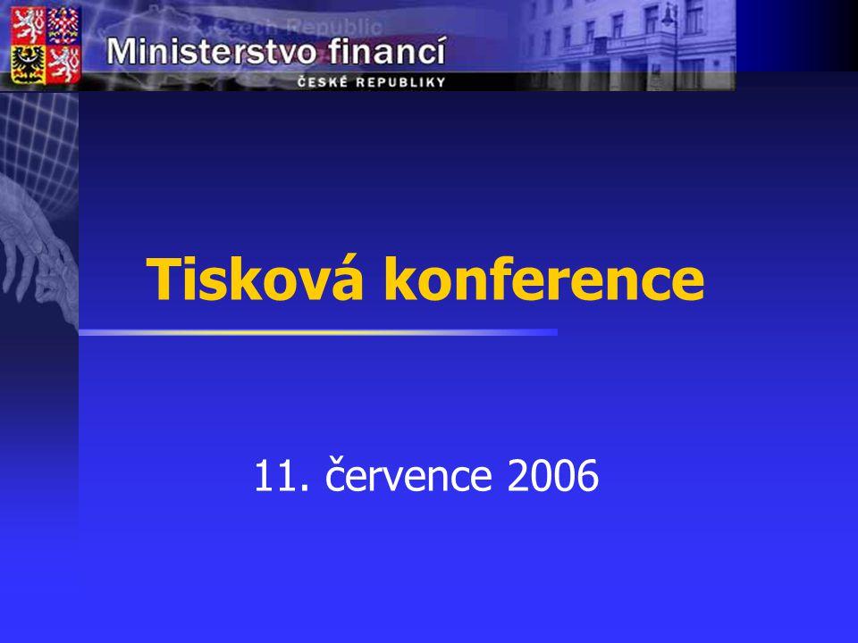 Tisková konference 11. července 2006