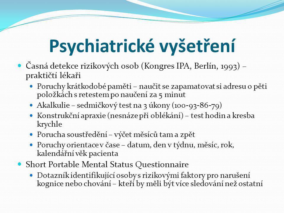 Psychiatrické vyšetření