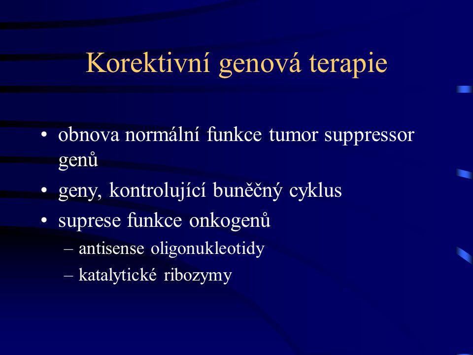 Korektivní genová terapie