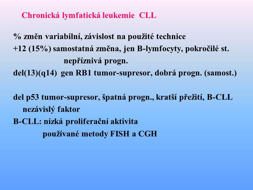 Chronická lymfatická leukemie CLL