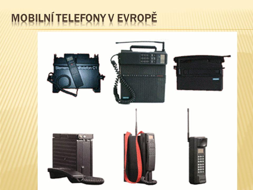Mobilní telefony v evropě