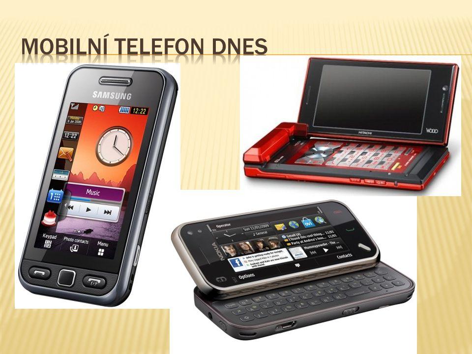 Mobilní telefon dnes