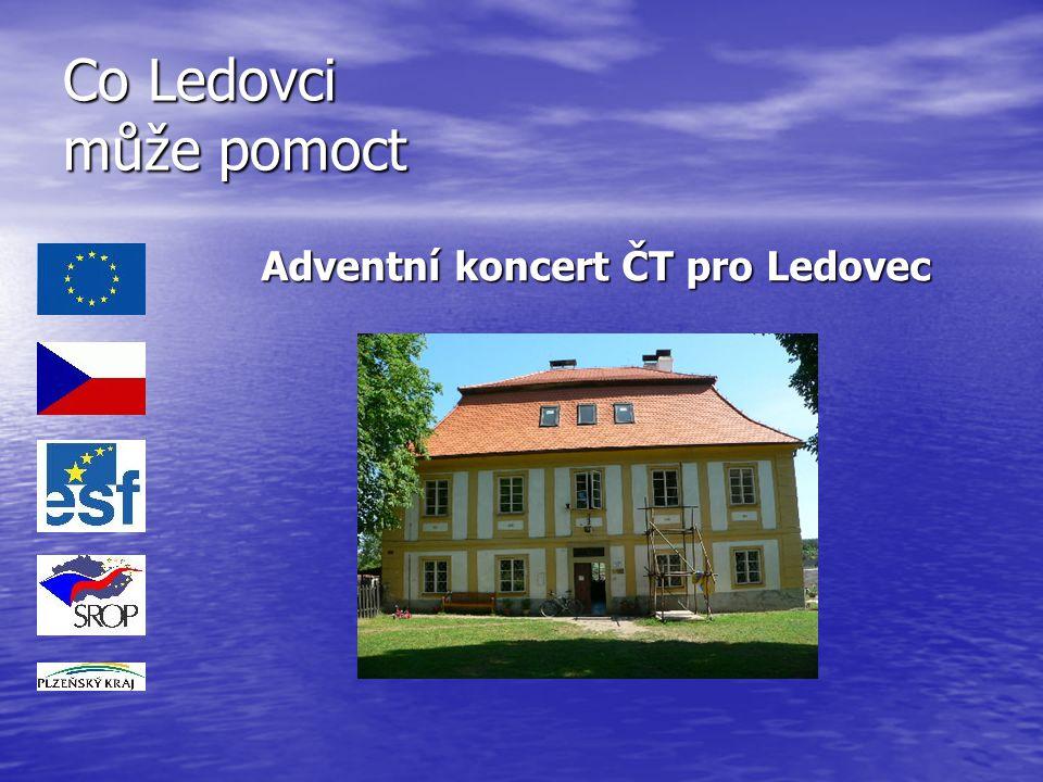 Co Ledovci může pomoct Adventní koncert ČT pro Ledovec