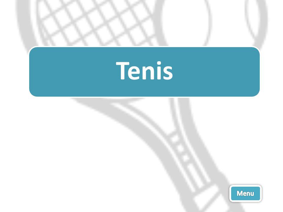 Tenis Menu