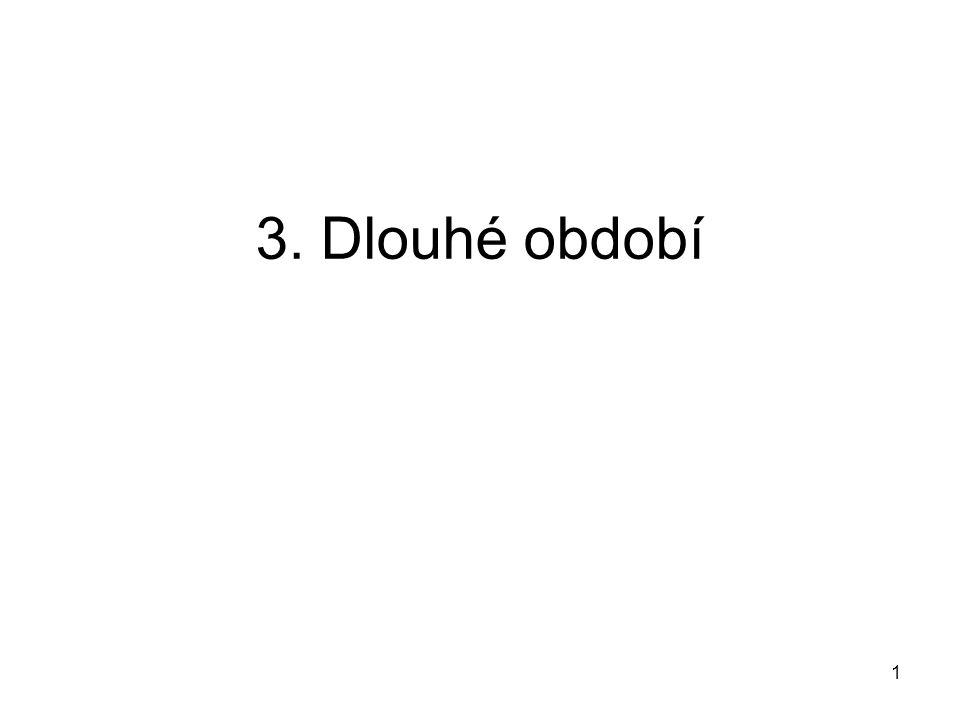 3. Dlouhé období