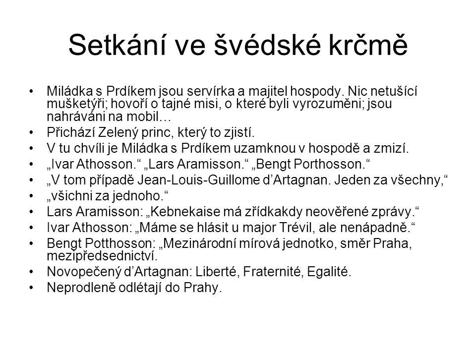 Setkání ve švédské krčmě