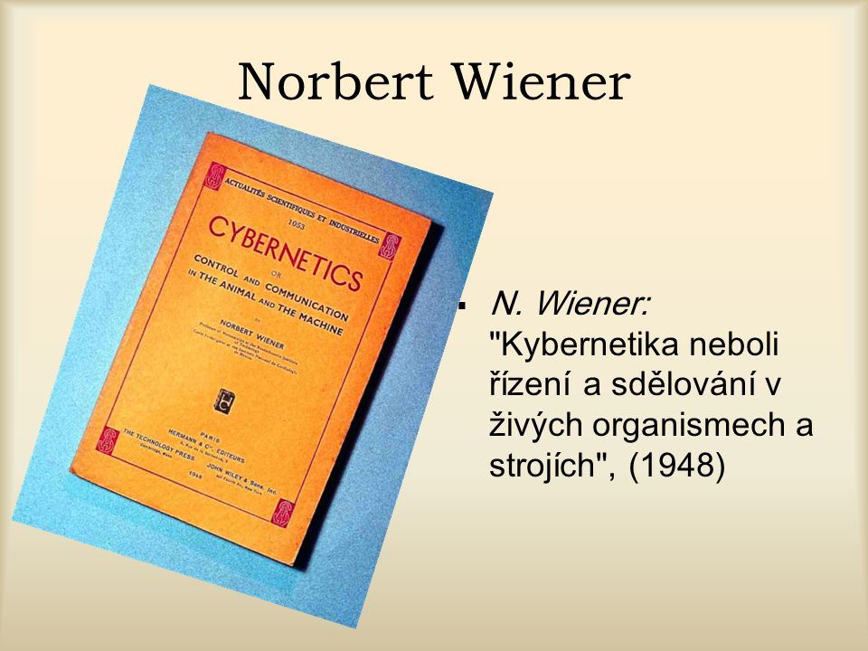 Norbert Wiener N.