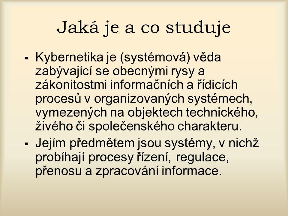 Jaká je a co studuje