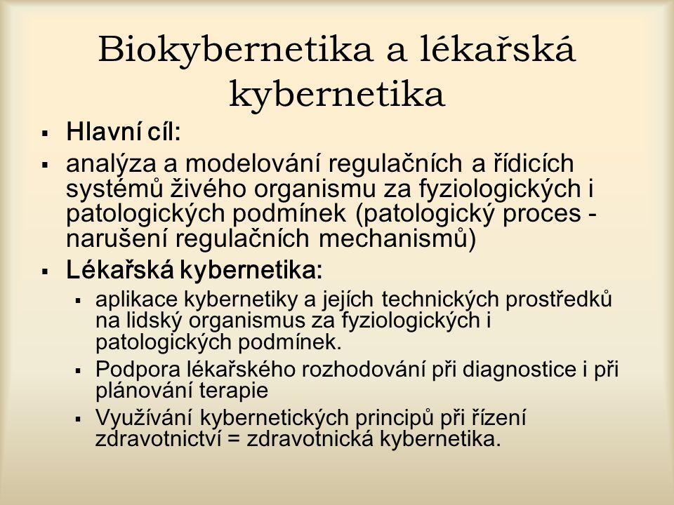 Biokybernetika a lékařská kybernetika