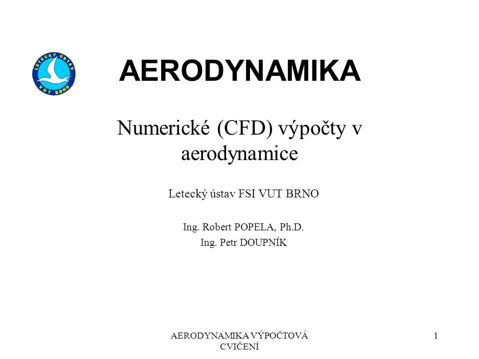 Numerické (CFD) výpočty v aerodynamice