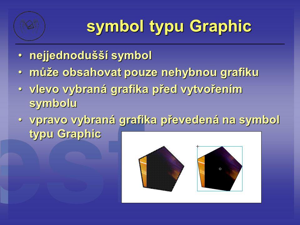 symbol typu Graphic nejjednodušší symbol