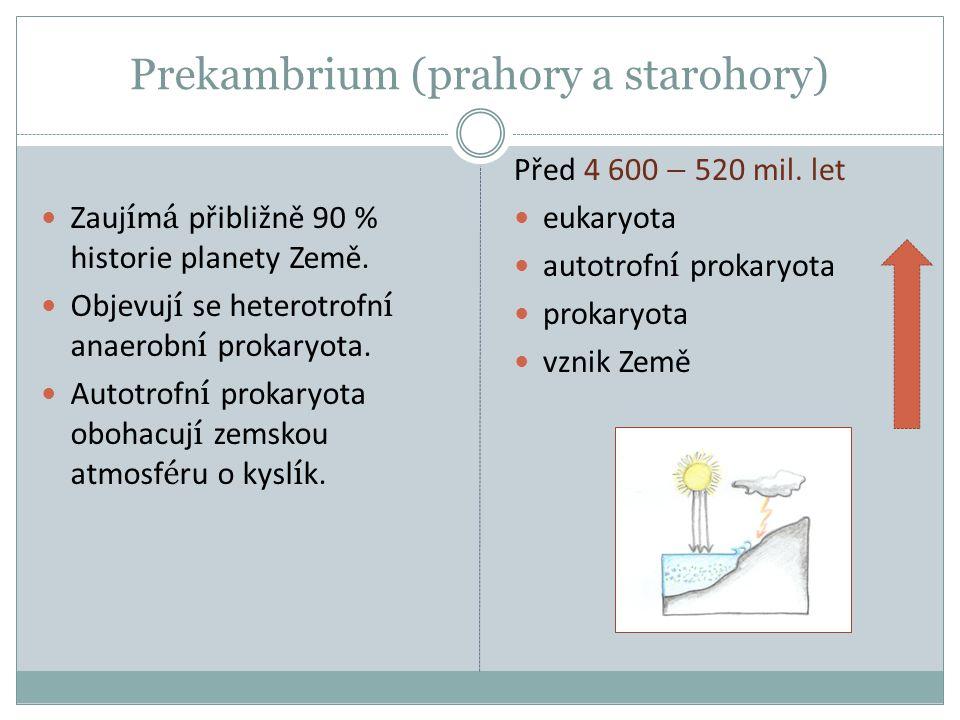 Prekambrium (prahory a starohory)