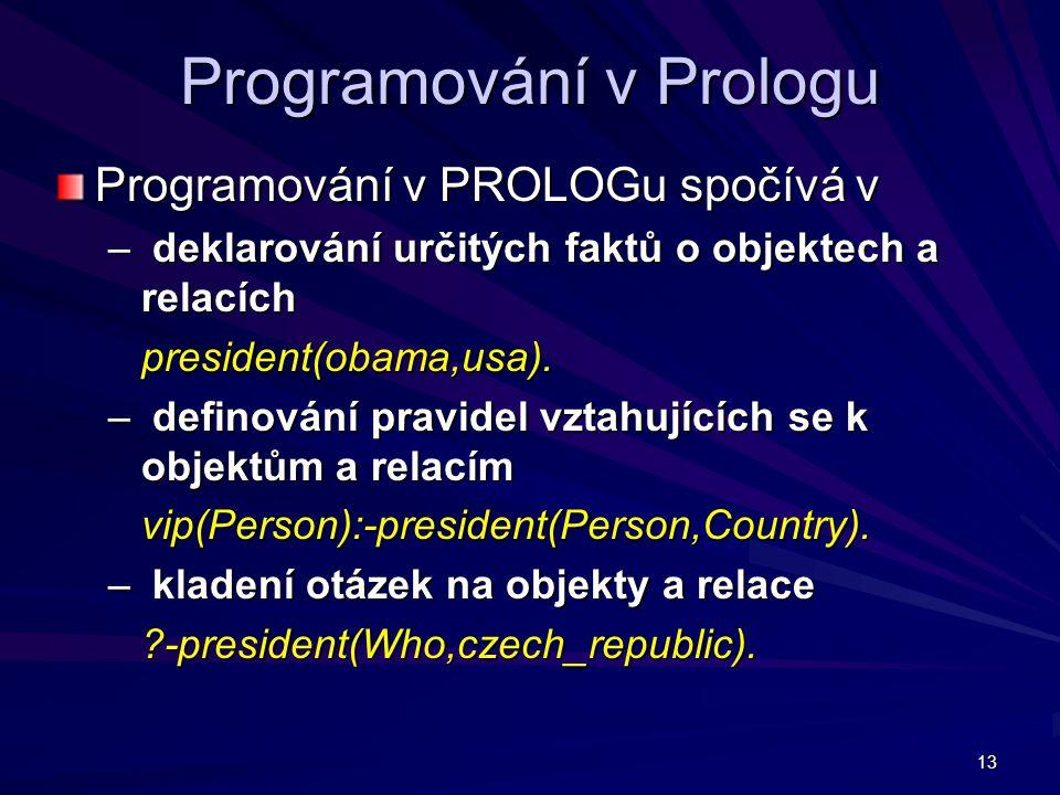 Programování v Prologu