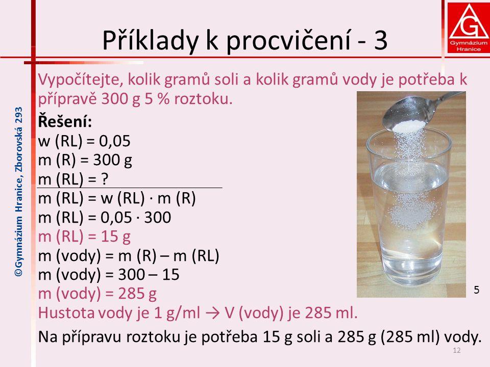 Příklady k procvičení - 3