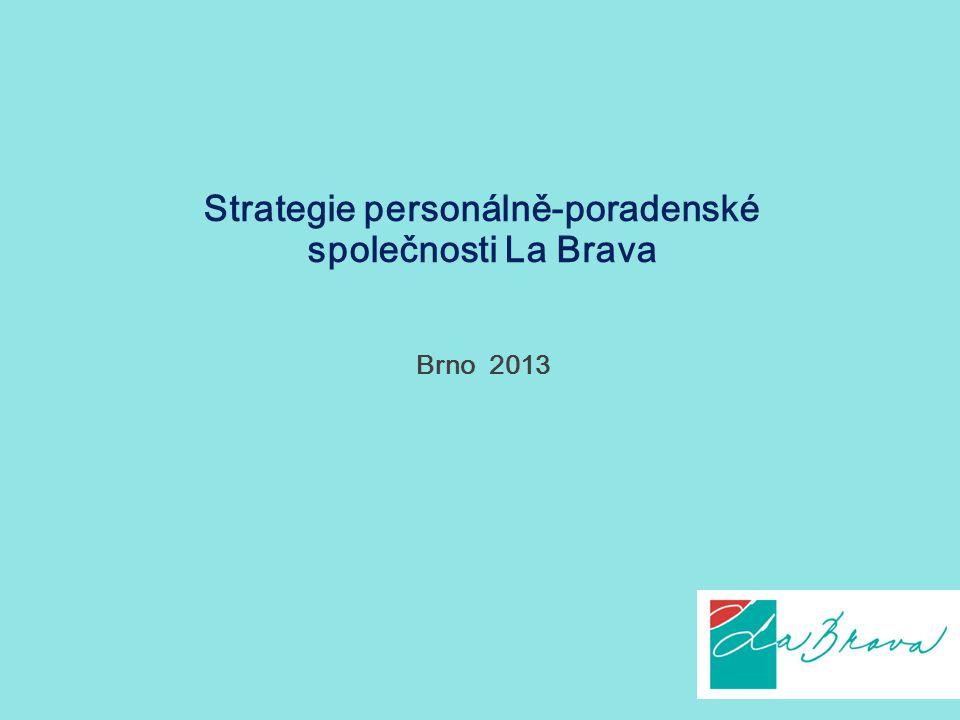 Strategie personálně-poradenské společnosti La Brava
