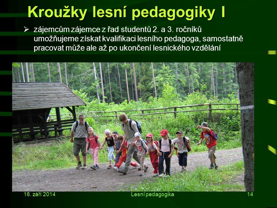 Kroužky lesní pedagogiky I