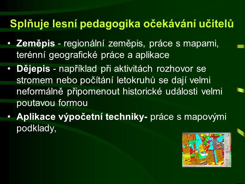 Splňuje lesní pedagogika očekávání učitelů