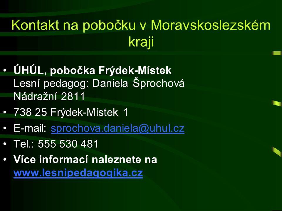 Kontakt na pobočku v Moravskoslezském kraji