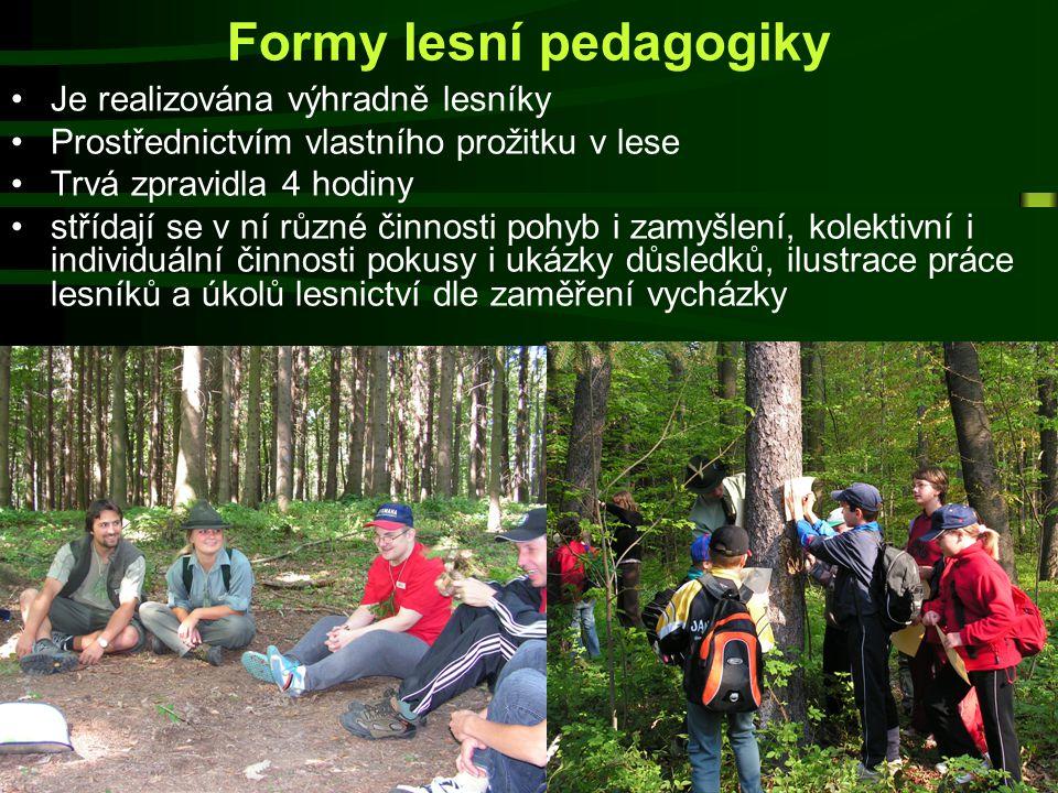 Formy lesní pedagogiky