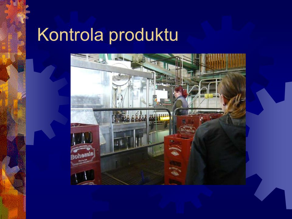 Kontrola produktu