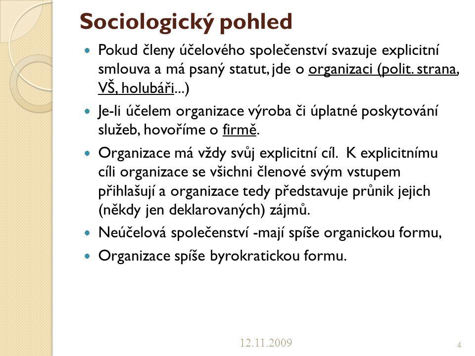 Sociologický pohled