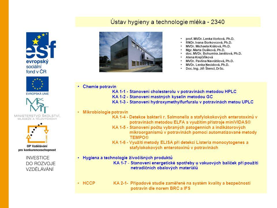 Ústav hygieny a technologie mléka - 2340