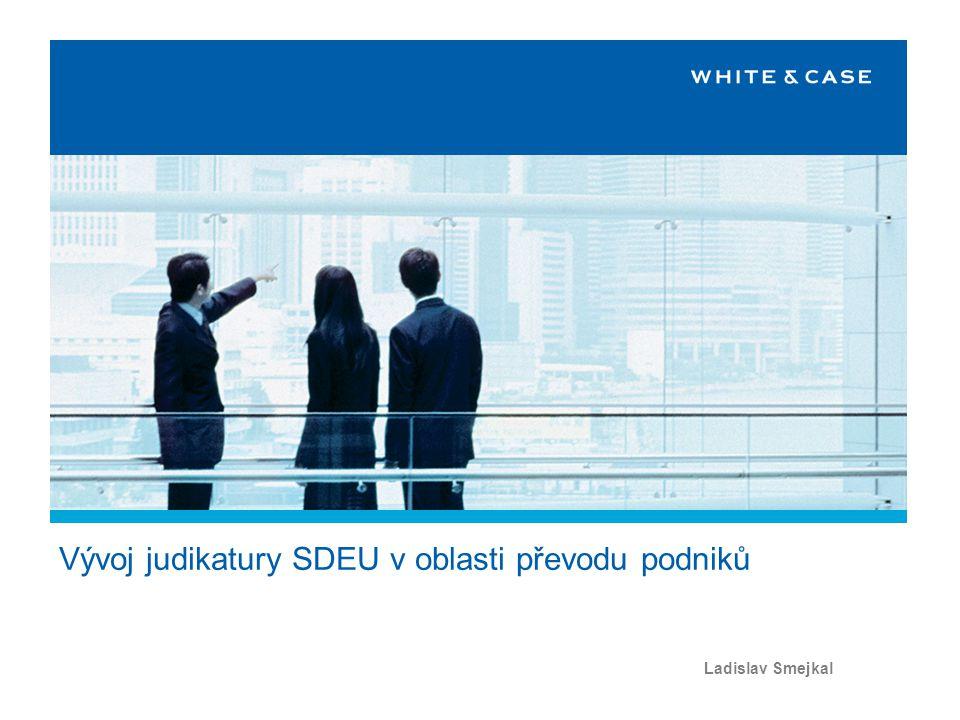 Program Evropská právní úprava Česká právní úprava