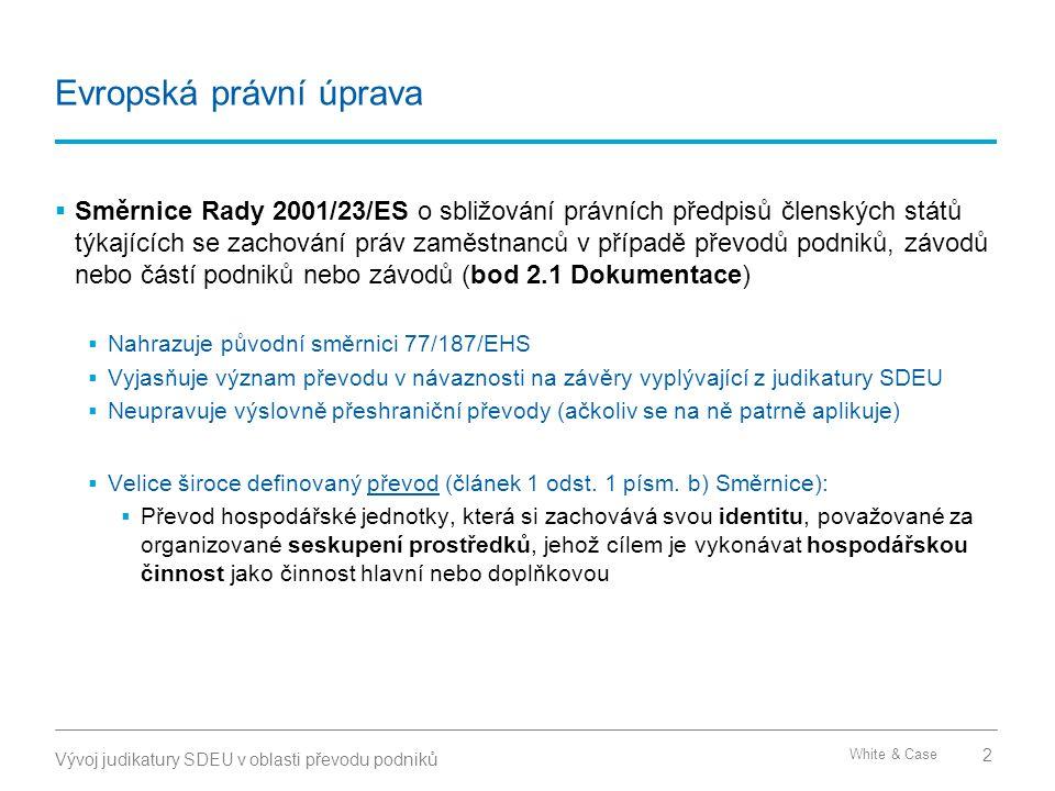 Česká právní úprava Obecná úprava Specifická úprava