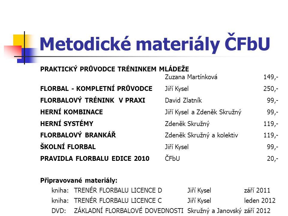 Metodické materiály ČFbU