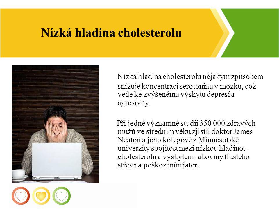 Nízká hladina cholesterolu