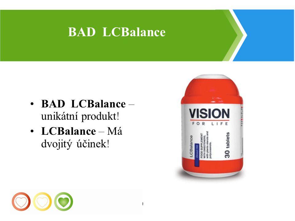 BAD LCBalance BAD LCBalance – unikátní produkt!