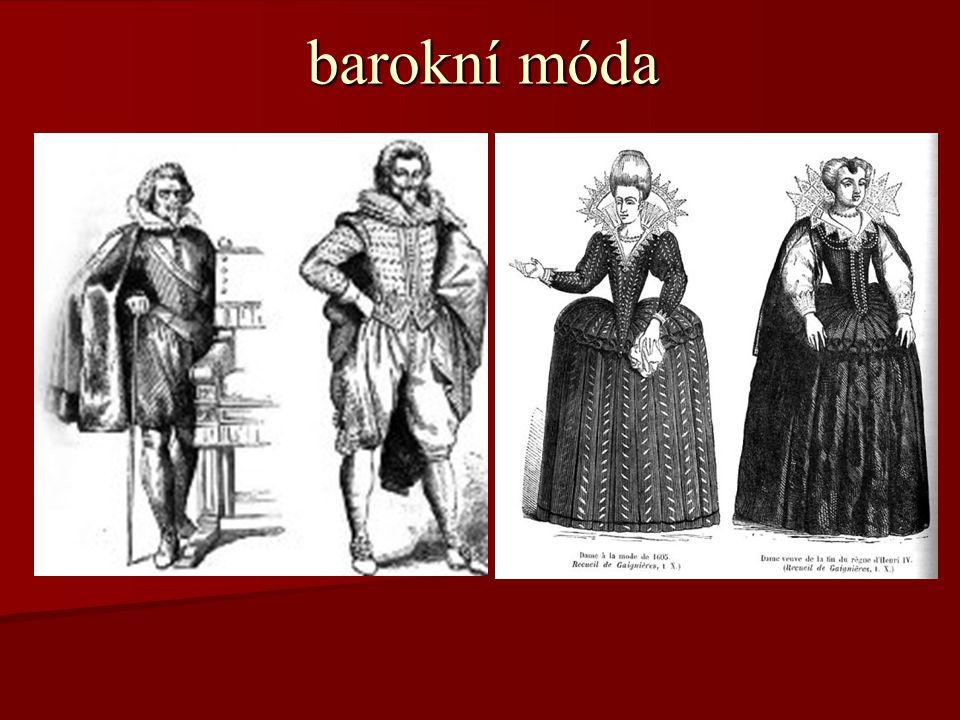 barokní móda