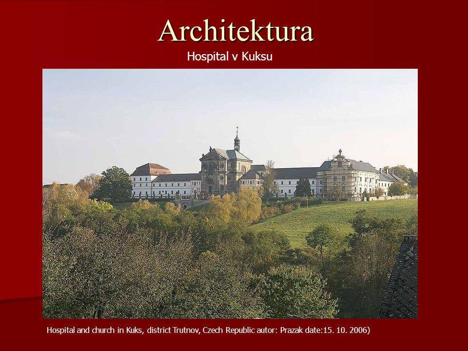 Architektura Hospital v Kuksu