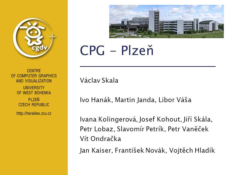 CPG - Plzeň Václav Skala Ivo Hanák, Martin Janda, Libor Váša