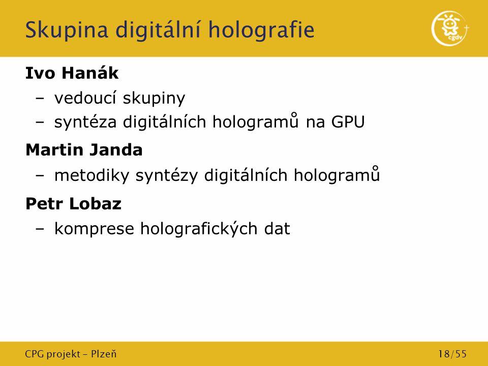 Skupina digitální holografie