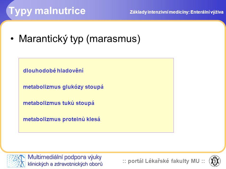 Marantický typ (marasmus)