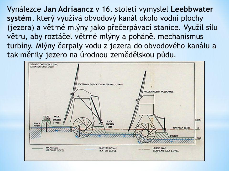 Vynálezce Jan Adriaancz v 16