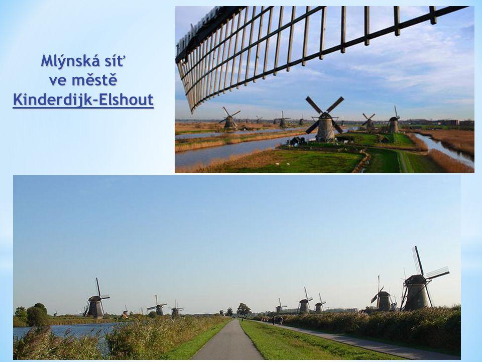ve městě Kinderdijk-Elshout