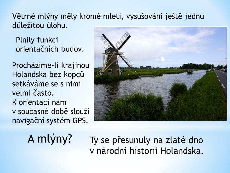 A mlýny Ty se přesunuly na zlaté dno v národní historii Holandska.