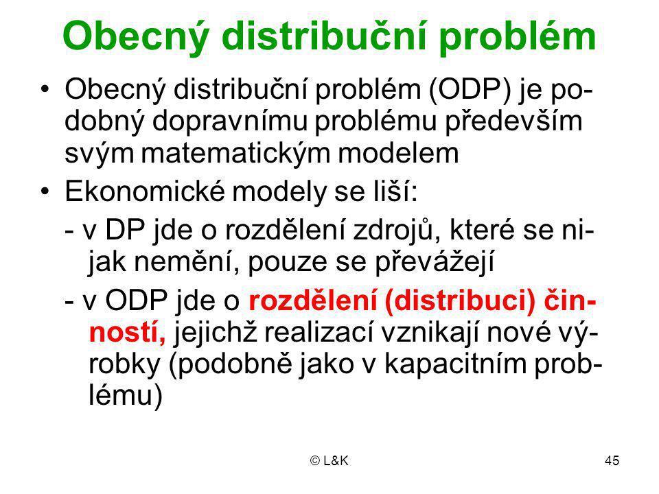 Obecný distribuční problém