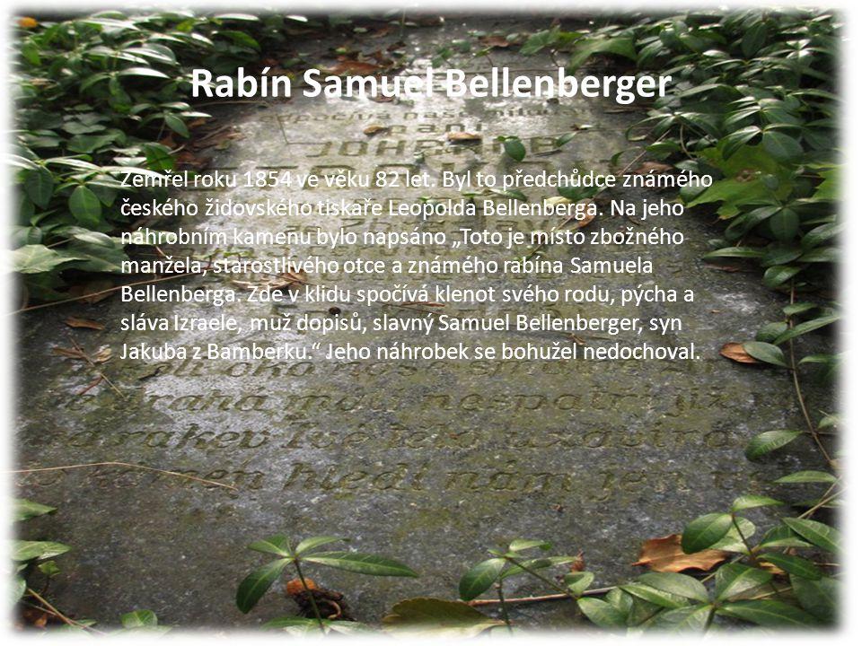 Rabín Samuel Bellenberger