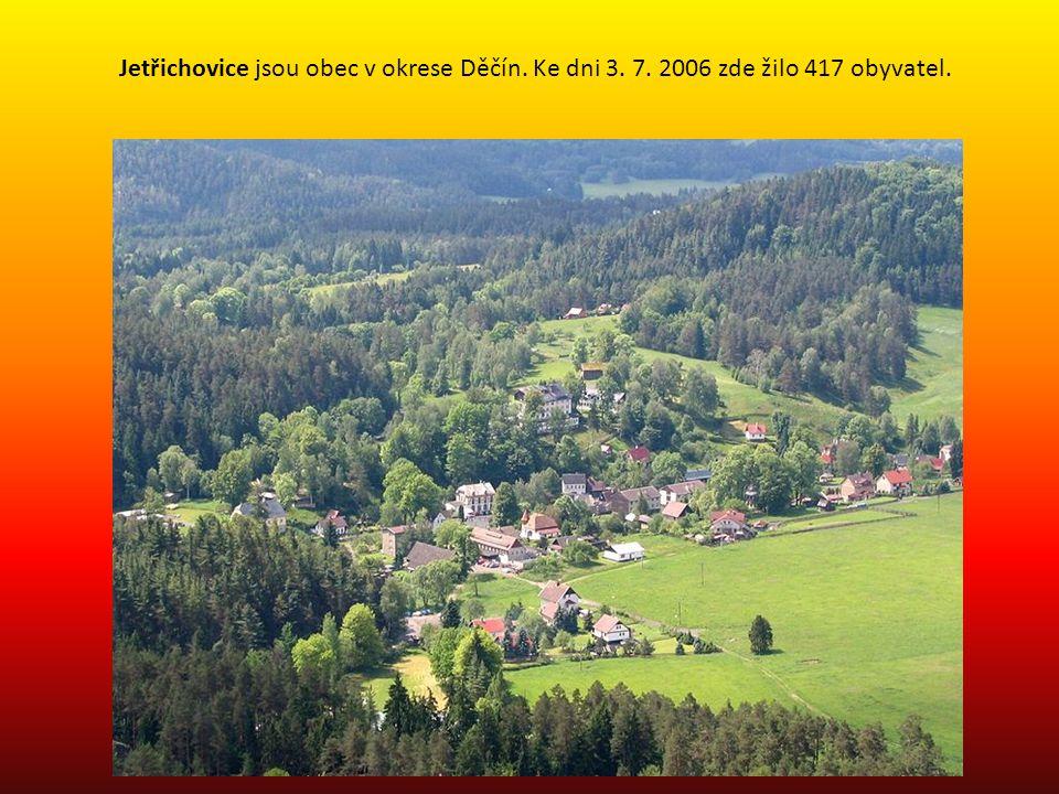Jetřichovice jsou obec v okrese Děčín. Ke dni 3. 7