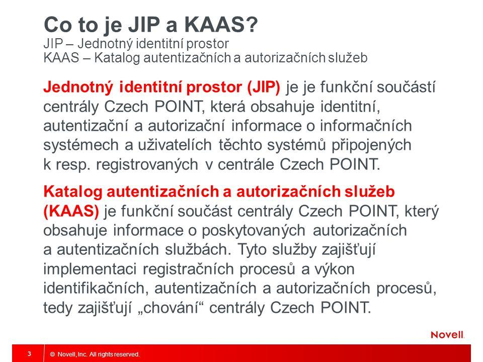 Co to je JIP a KAAS JIP – Jednotný identitní prostor KAAS – Katalog autentizačních a autorizačních služeb