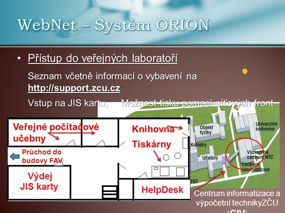 Centrum informatizace a výpočetní technikyZČU (CIV)