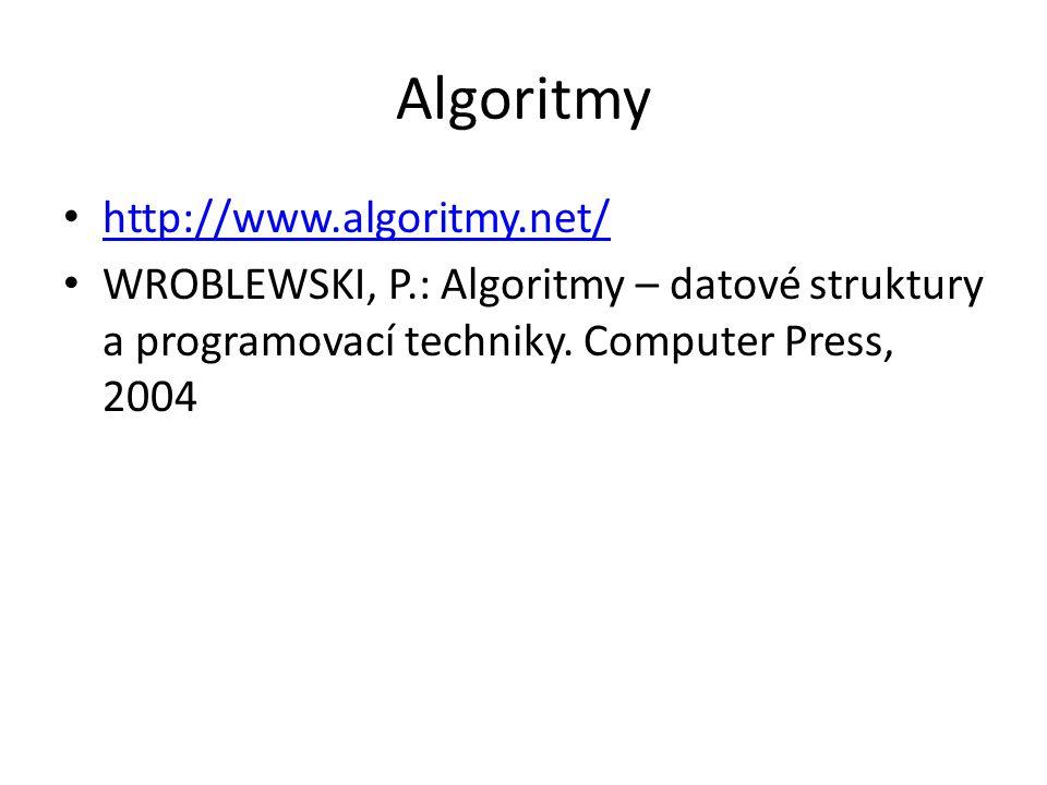 Algoritmy http://www.algoritmy.net/