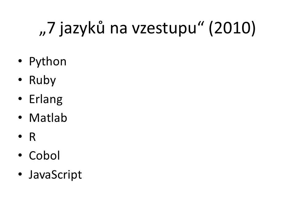 """""""7 jazyků na vzestupu (2010)"""