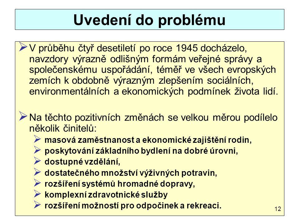 Uvedení do problému