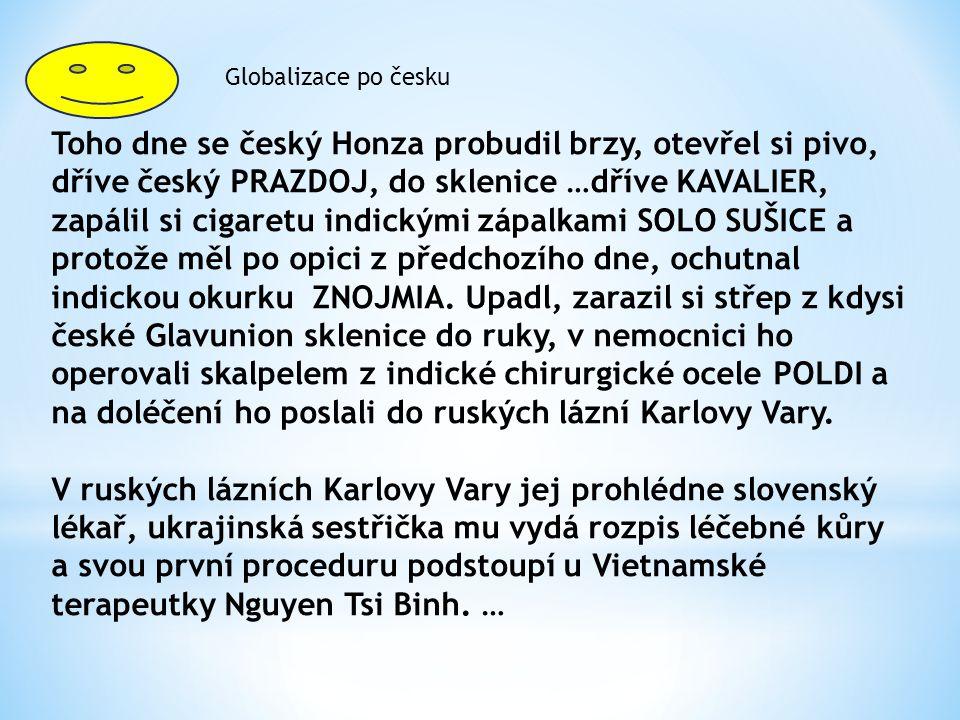 Globalizace po česku